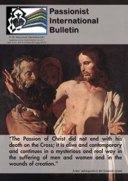 the curia informs - Passio Christi