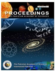 Download Journal Part 1 - Pakistan Academy of Sciences
