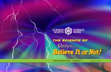 The Science of Ripley's Believe It or Not! - Science North