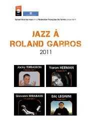 Jazz à Roland Garros - Radio France