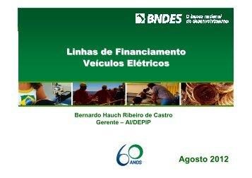 Linhas de crédito BNDES para Veículos Elétricos - ABVE