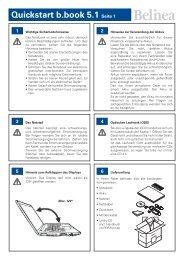 Quickstart b.book 5.1 Seite 1 - ECT GmbH