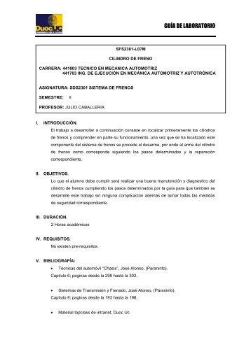 GUÍA DE LABORATORIO - Biblioteca - Duoc UC