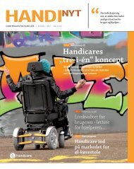 "Handicares ""tre-i-én"" koncept - Handicare.dk"