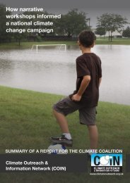 COIN-Climate-Coalition-Report