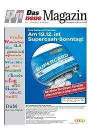 Am 19.12. ist Supercash-Sonntag! - DnM Das neue Magazin