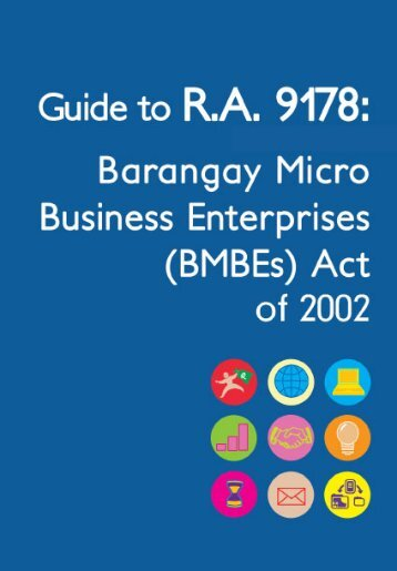 Barangay Micro-Business Enterprise Law - Businesses Fighting ...