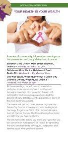DCC Event Programme, International Women's Day 2011 - Dublin.ie - Page 4