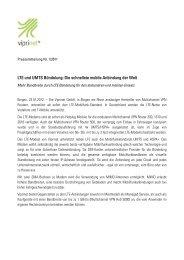 LTE und UMTS Bündelung: Die schnellste mobile ... - Viprinet