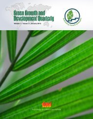 Green Growth and Development Quarterly - Low Emissions Asian ...