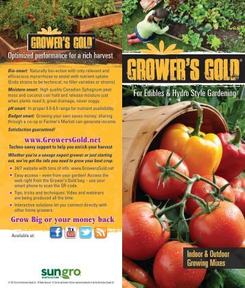 Indoor & Outdoor Growing Mixes For Edibles & Hydro Style Gardening