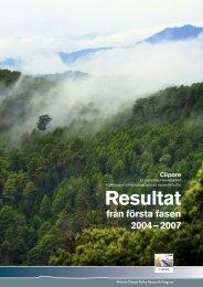 Årsrapport 2007 - Mistra