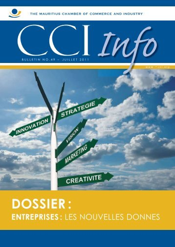 dossier - The Mauritius Chamber of Commerce and Industry