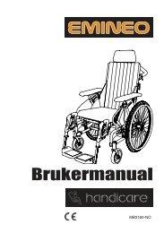 Brukermanual Emineo 07 - Handicare
