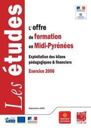 exploitation des bilans pédagogiques et financiers. Exercice 2006