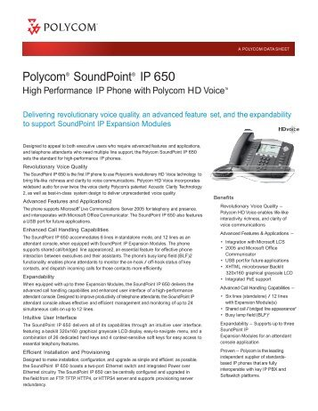 polycom ip 6000 user guide
