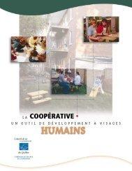 La coopérative un outil de développement à visages humains