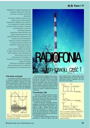 Radiofonia w ciągłym rozwoju, cz. 1 - Elportal