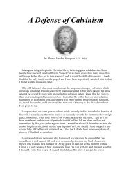 A Defense of Calvinism by Spurgeon.pdf - Online Christian Library