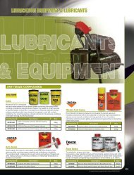 Grease and Lubricants - McGinns