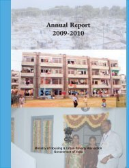 2009-2010 Annual Report - Ministry of Housing & Urban Poverty ...