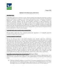 Job Description: Permit Technician Assistant - City of Tigard
