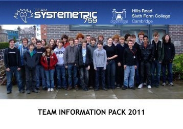 Team Information Pack 2011 - The UK Sponsorship Database