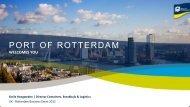 Port Vision 2030 - Port of Rotterdam