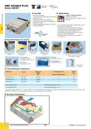 Kit VMC double flux moyen rendement Akor - BECEN
