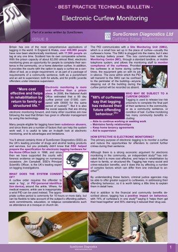 technical bulletin - SureScreen Diagnostics