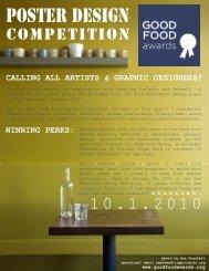 Poster Design - Good Food Awards