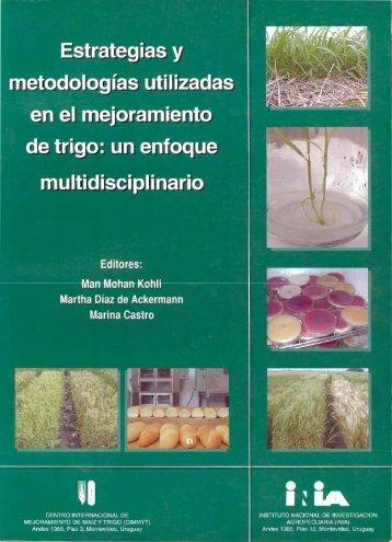 Estrategias y metodologías utilizadas en el mejoramiento de trigo