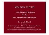 WOHNEN 50 PLUS - dr. lutz h. michel