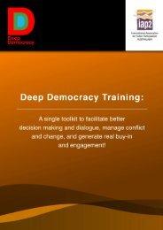 deep democracy training registration form - International Association ...