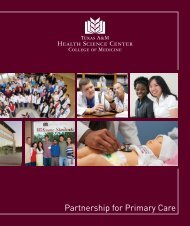 PPC brochure 2012.indd - College of Medicine - Texas A&M Health ...