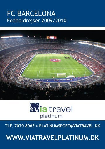 FC BARCELONA - VIA Travel