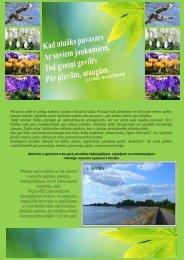 Pilsētas iedzīvotājiem un tās viesiem ir iecienīta ... - Latvijas centrs