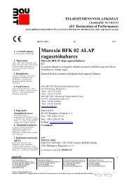 Murexin BFK 02 - TNyLokok - Baumit