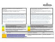 Résumé des recherches - Government of New Brunswick ...