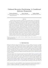 Unbiased Recursive Partitioning - Institute for Statistics and ...