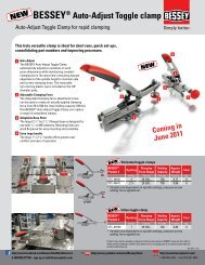 BESSEY® Auto-Adjust Toggle clamp - Highland Woodworking