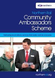 Community Ambassadors Scheme - Northern Rail