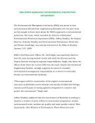 EMA Hosts Barbados' Environmental Protection Department