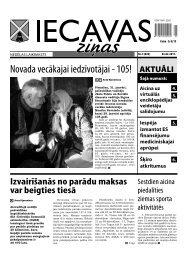 04.02.2011. (Nr.5) - Iecavas novads