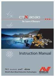 CTX 3030 Instruction Manual - Kellyco Metal Detectors