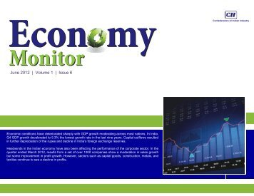 Economy Monitor June 2012 - CII
