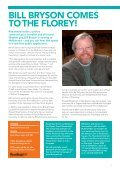 CoME ANd hEAR BIll BRySoN AT hIS BEST: lAugh ... - Florey Institute - Page 3