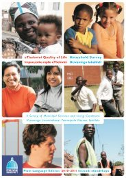 2010 - 2011 Survey Report - Durban