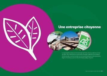 Une entreprise citoyenne - Andra