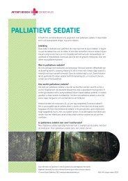 Palliatieve sedatie - Jeroen Bosch Ziekenhuis